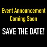Event Announcement Coming Soon