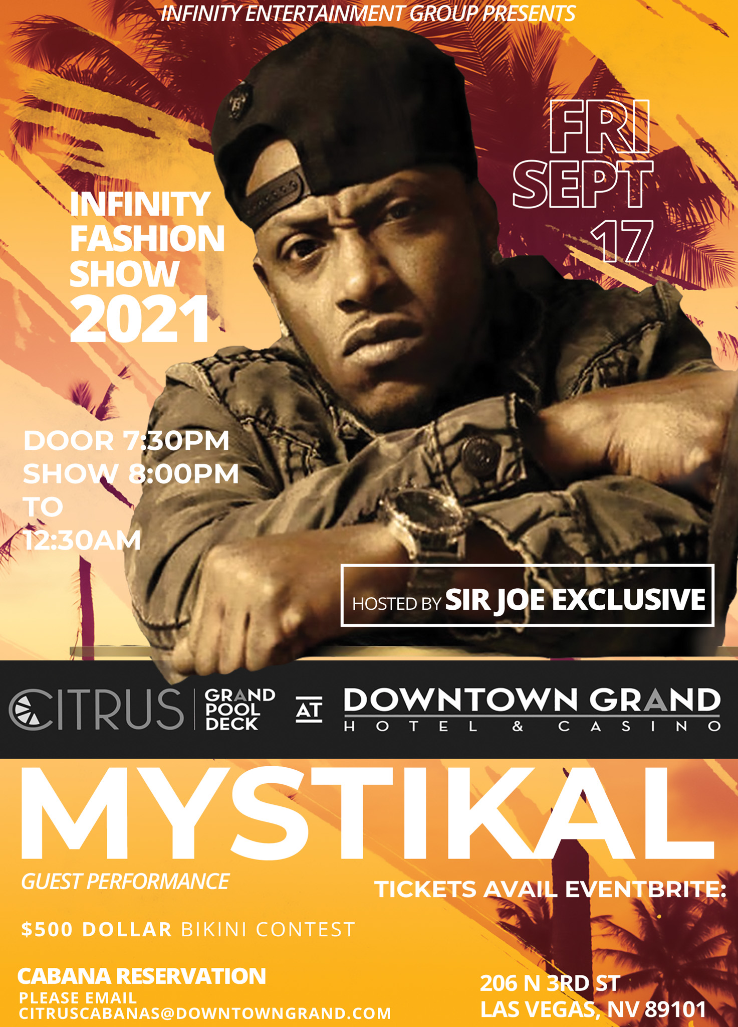 Infinity Fashion Show 2021 Hosted By Sir Joe Exclusive w/ Mystical Guest Performance